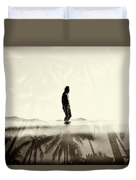Face The Sun 2 Duvet Cover
