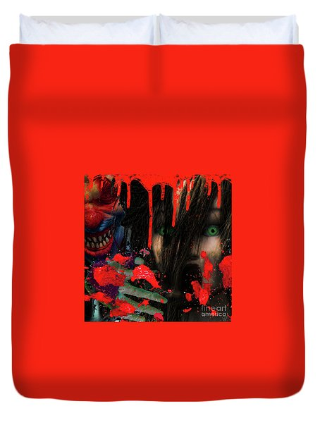 Face Your Fears Duvet Cover