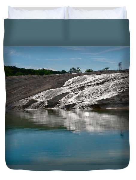 Faces Duvet Cover