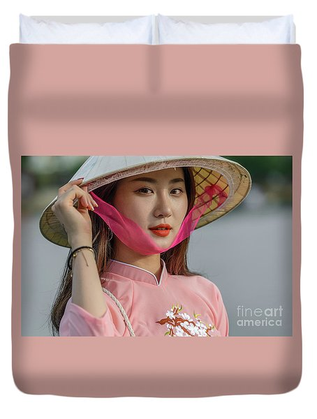 Faces Of Hoian - 04 Duvet Cover
