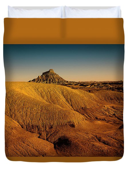 Factory Butte Duvet Cover
