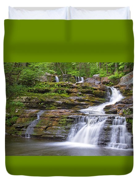 Factory Falls Duvet Cover