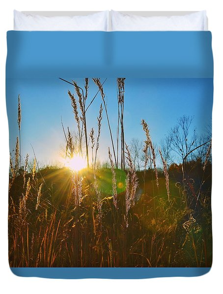 Duvet Cover featuring the photograph Faded Day by Nikki McInnes