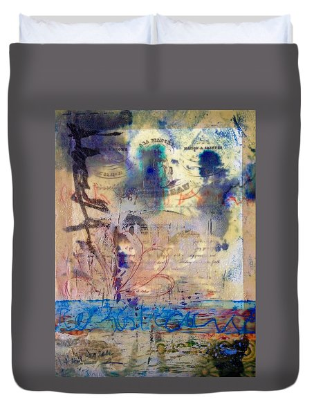 Faded Fantasies 1 Duvet Cover
