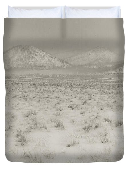 Faded Storm Duvet Cover by Scott Sawyer