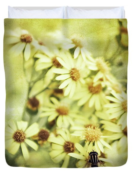Duvet Cover featuring the photograph Faded Summer by Stefan Nielsen