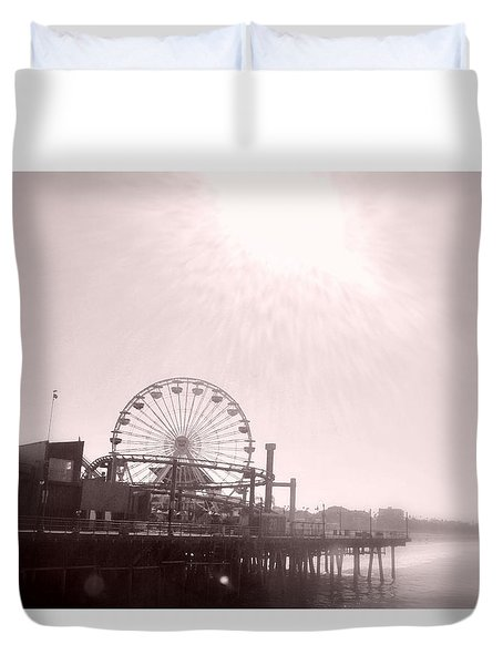 Fading Memories Duvet Cover by Nature Macabre Photography