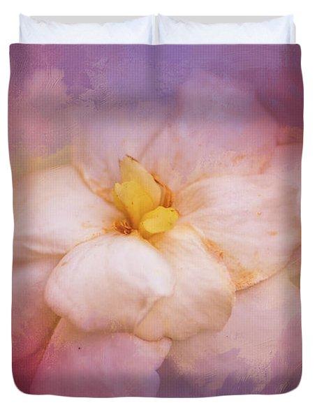 Fading Summer Flower Duvet Cover