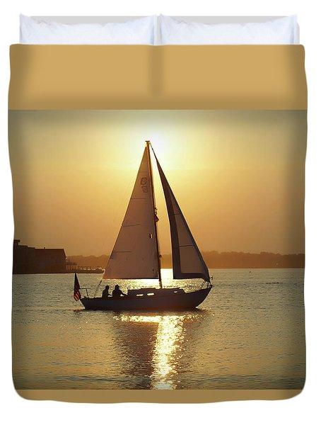 Fading Sun Duvet Cover