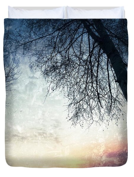 Fading Sunset Duvet Cover