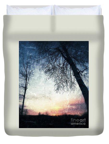 Fading Sunset Duvet Cover