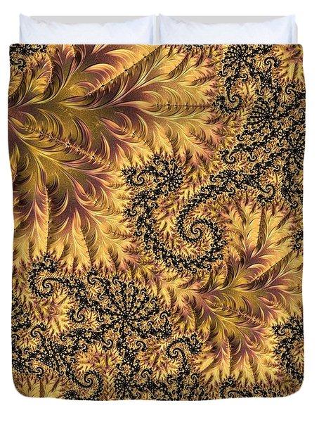 Faerie Forest Floor II Duvet Cover by Susan Maxwell Schmidt