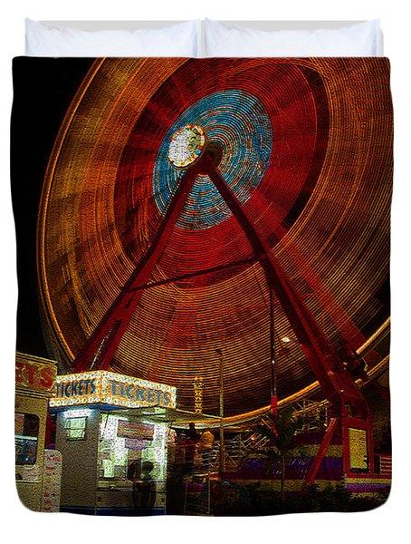 Fair Dreams Duvet Cover by David Lee Thompson