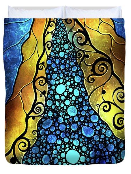 Fair Ophelia Duvet Cover by Mandie Manzano