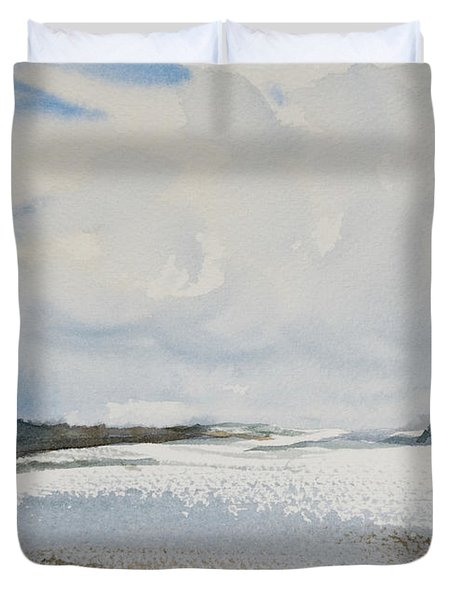 Fair Weather Or Foul? Duvet Cover