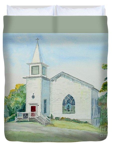 Fairdale Um Church Duvet Cover