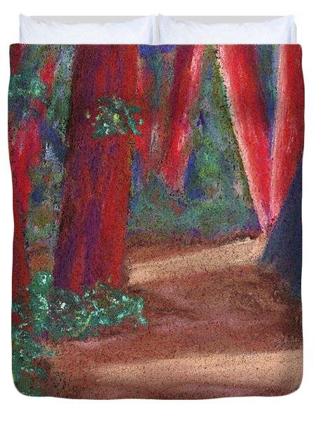 Fairfax Redwoods Duvet Cover