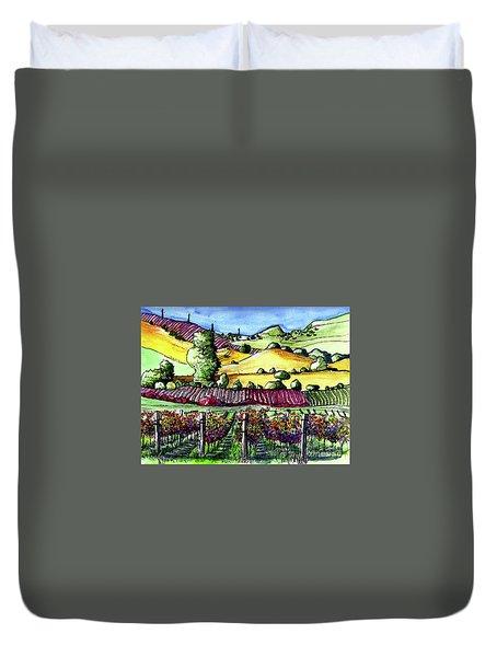 Fairfield Vineyards Duvet Cover