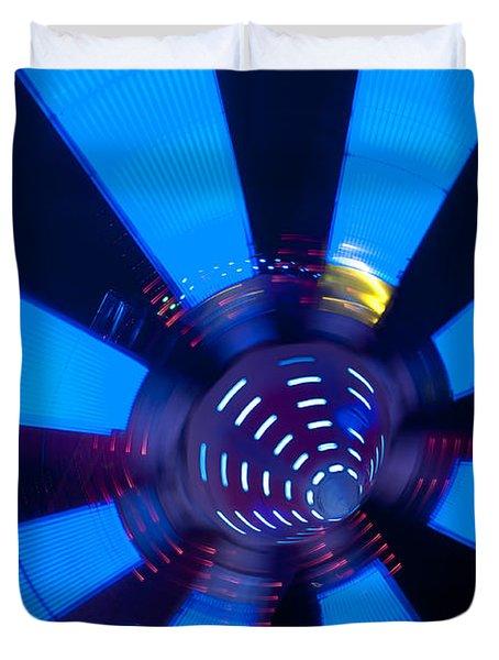 Fairground Abstract Vi Duvet Cover