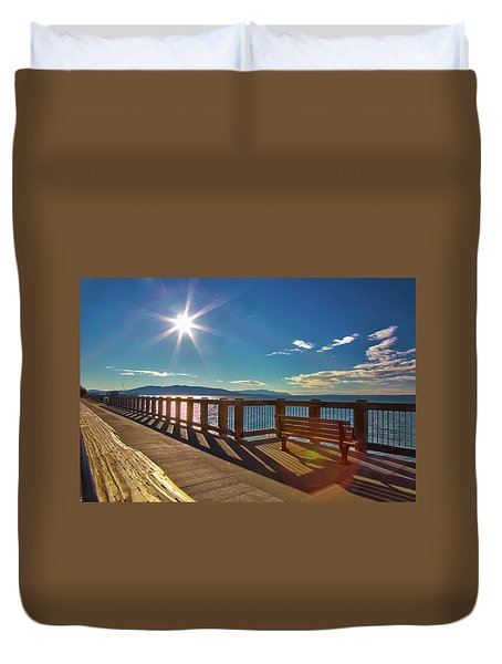 Fairhaven Boardwalk Duvet Cover