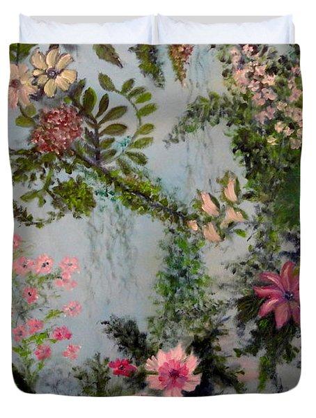 Fairies Garden Duvet Cover