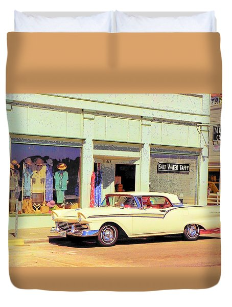 Fairlane 500 1957 Duvet Cover