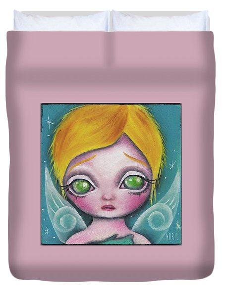 Fairy  Duvet Cover by Abril Andrade Griffith