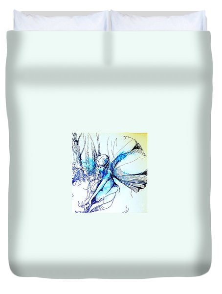 Fairy Doodles Duvet Cover