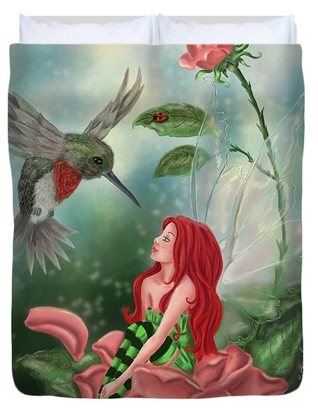 Fairy Dust Duvet Cover