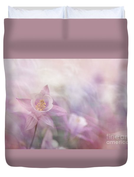 Fairy Flower I Duvet Cover by Yuri Santin