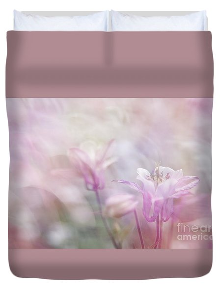 Fairy Flower II Duvet Cover by Yuri Santin