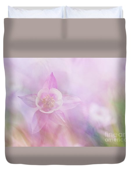 Fairy Flower IIi Duvet Cover by Yuri Santin