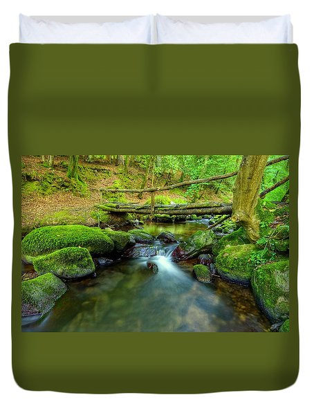 Fairy Glen Bridge Duvet Cover