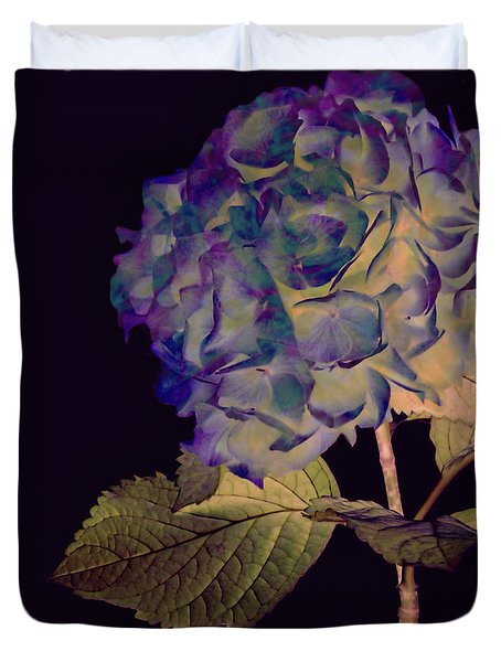Fairy Hydrangea Duvet Cover