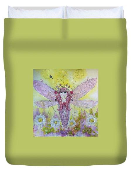 Fairy Messenger  Duvet Cover