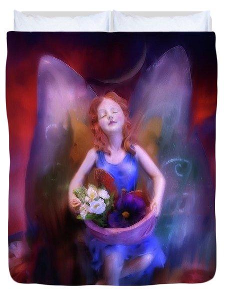 Fairy Of The Garden Duvet Cover