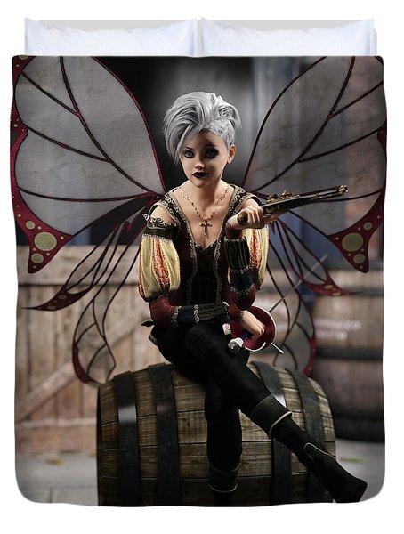 Fairy Piracy 1 Duvet Cover
