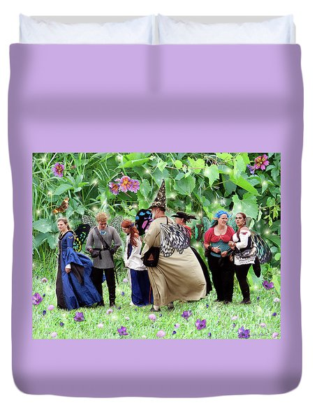 Fairy Queue Duvet Cover