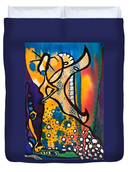 Fairy Queen - Art By Dora Hathazi Mendes Duvet Cover