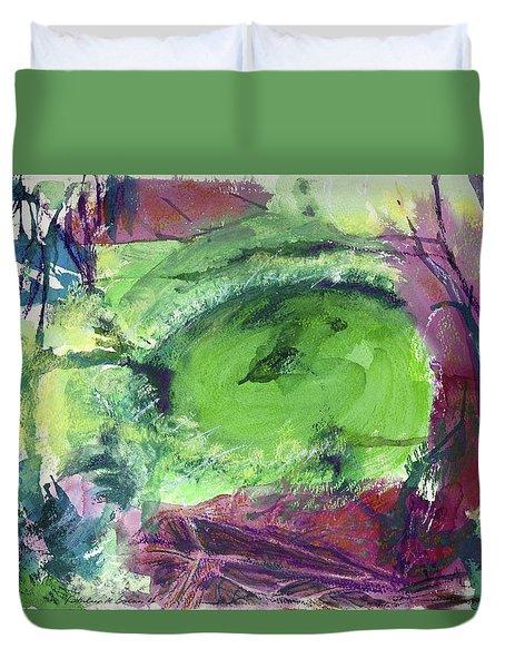 Fairy Ring, Lasso Forest Duvet Cover