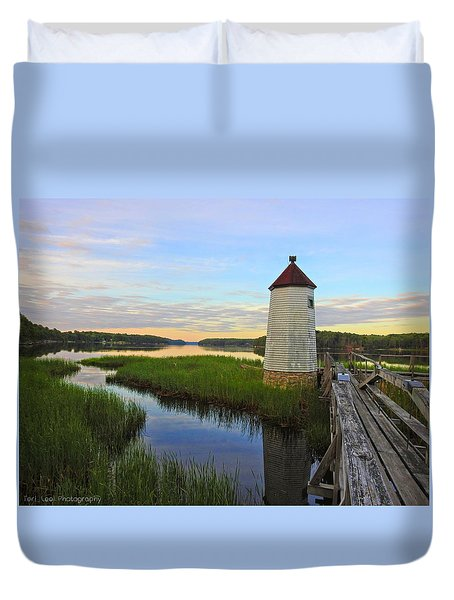 Fairy Tale On The River Duvet Cover