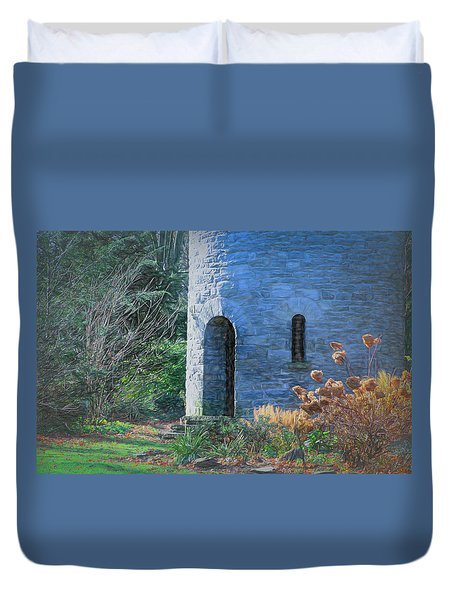 Fairy Tale Tower Duvet Cover by Patrice Zinck