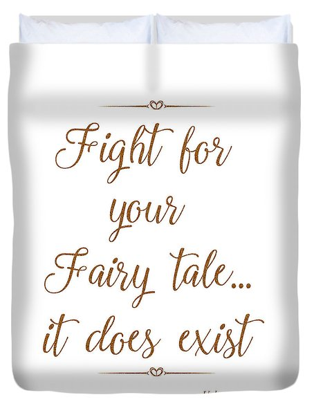 Fairy Tale Duvet Cover by Unknown