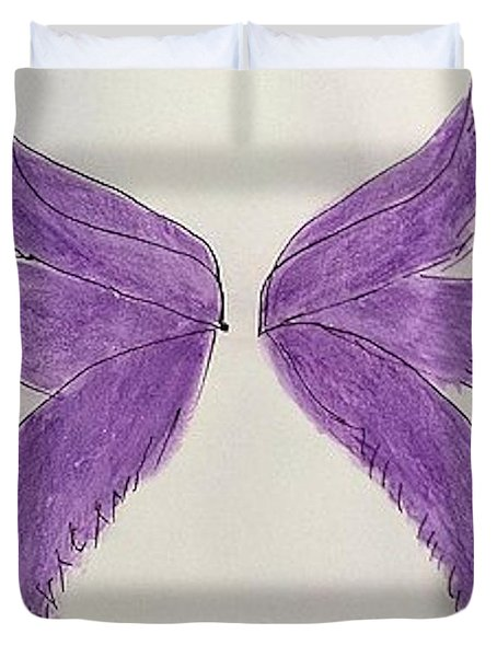 Fairy Wings For Sale Duvet Cover
