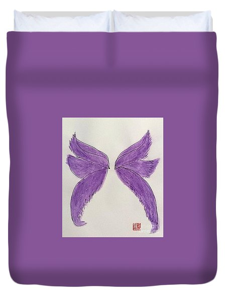 Fairy Wings For Sale Duvet Cover