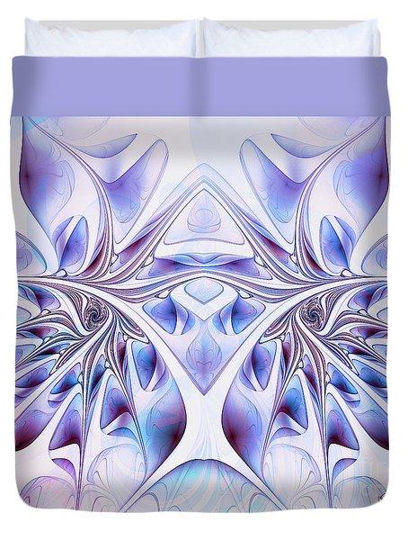 Duvet Cover featuring the digital art Fairy Wings by Jutta Maria Pusl
