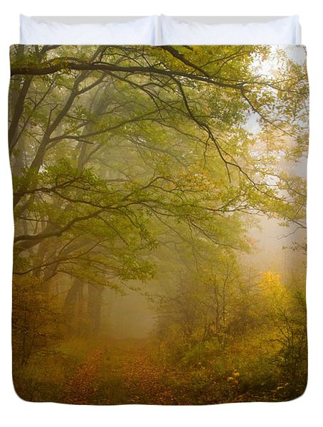 Fairy Wood Duvet Cover by Evgeni Dinev