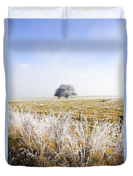 Duvet Cover featuring the photograph Fairytale Winter In Fingal by Jorgo Photography - Wall Art Gallery
