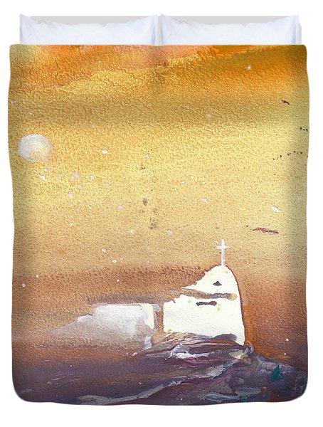 Faith Duvet Cover by Miki De Goodaboom