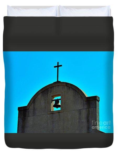 Duvet Cover featuring the photograph Faith by Ray Shrewsberry